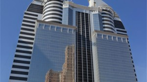 Dubai Silicon Oasis, Rented half floor for investment in an exclusive commercial tower