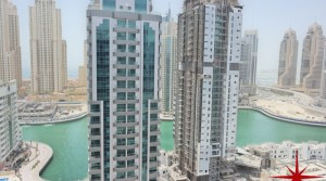 Dubai Marina, New Apt close to Metro Station and Tram station, with Marina and Sea View