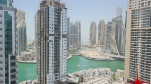 Dubai Marina, New 1 Bedroom Apt, Close to Metro Station and Tram station, with Marina and Partial Sea View
