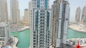 Dubai Marina, New Penthouse close to Metro Station and Tram station, with Marina, Partial Sea and JLT Skyline View
