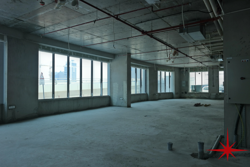 Business bay retail or showroom space with mezzanine for Mezzanine floor pdf