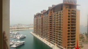 Palm Jumeirah, Marina 6, 2 BR Large Apt with Stunning Views for Lease
