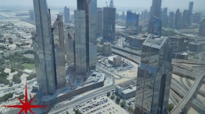 Main Sheikh Zayed Road, Shell and Core Office in a New Building With Great Views