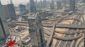 Main Sheikh Zayed Road, fully fitted office on higher floor with great views
