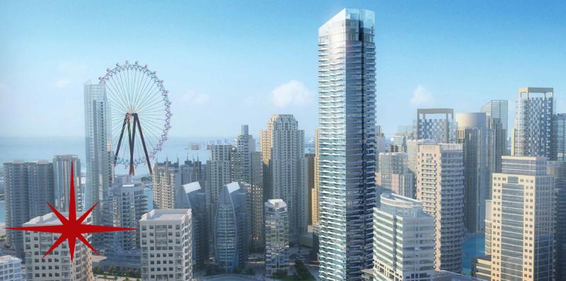 Dubai Marina  1br Premium Duplex Apt Next To Promenade To