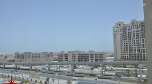 Spacious unit with Maids room in Marina 3 Residences Across from Nakheel Mall