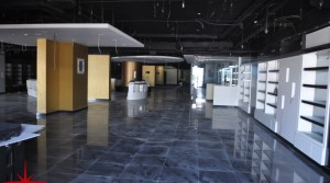 Facing Main Sheikh Zayed Road, Fully Fitted Showroom on Ground Floor with Mezzanine