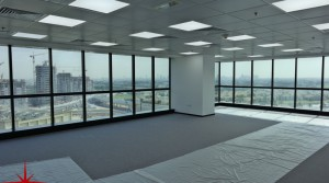 Fully Fitted Office With Meadows View on Mid Floor