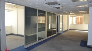Fitted Office with Partition & Carpeted floor on Mid-Floor Next to Metro