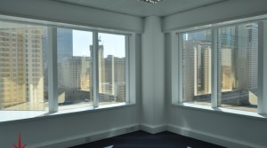 Office on Main SZR with Multiple Cabins, Tiled Floor & Fittings