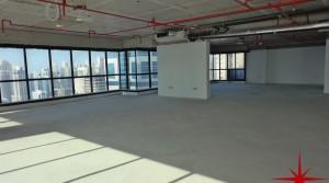 Higher Floor   Shell & Core Office  Panoramic Lake, SZR & Marina View