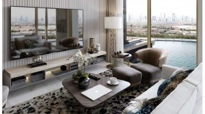 Interiors by Roberto Cavalli, the only residential tower in business bay next to JW Marquis