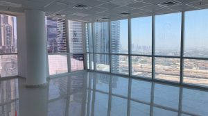 Fitted Office in Business Bay I Amazing View I 4 cheques