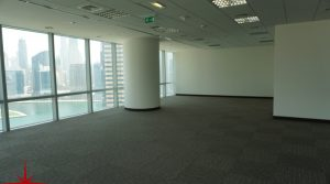 Fully fitted Office Space with the Burj Khalifa view, 2300 sq. ft @ AED 218,500 / year